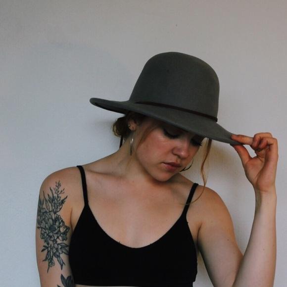 Brixton Accessories - Brixton Tiller Hat in Light Grey 5eeb454496d